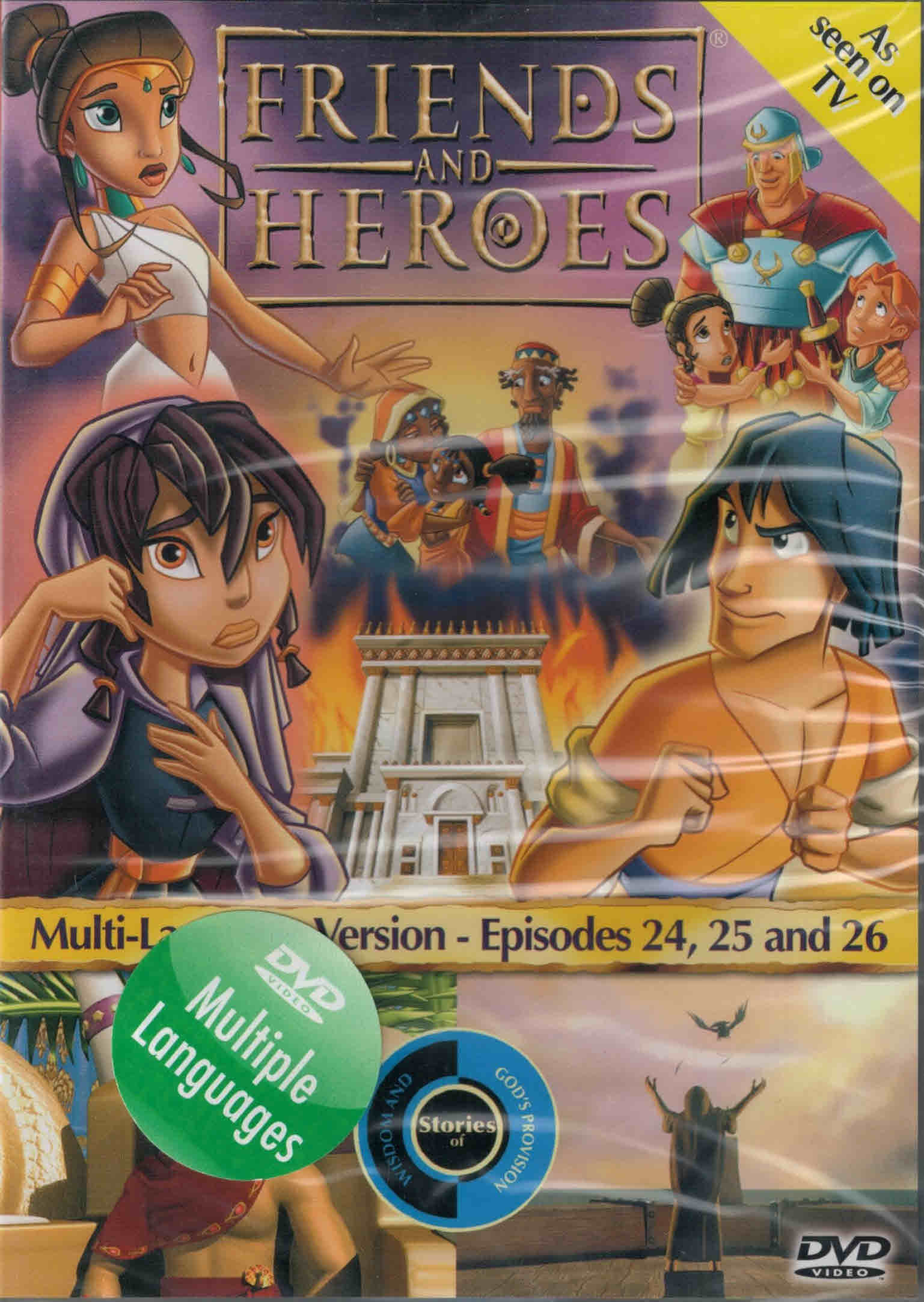 DVD Friends and Heroes Episodes 24-25-26