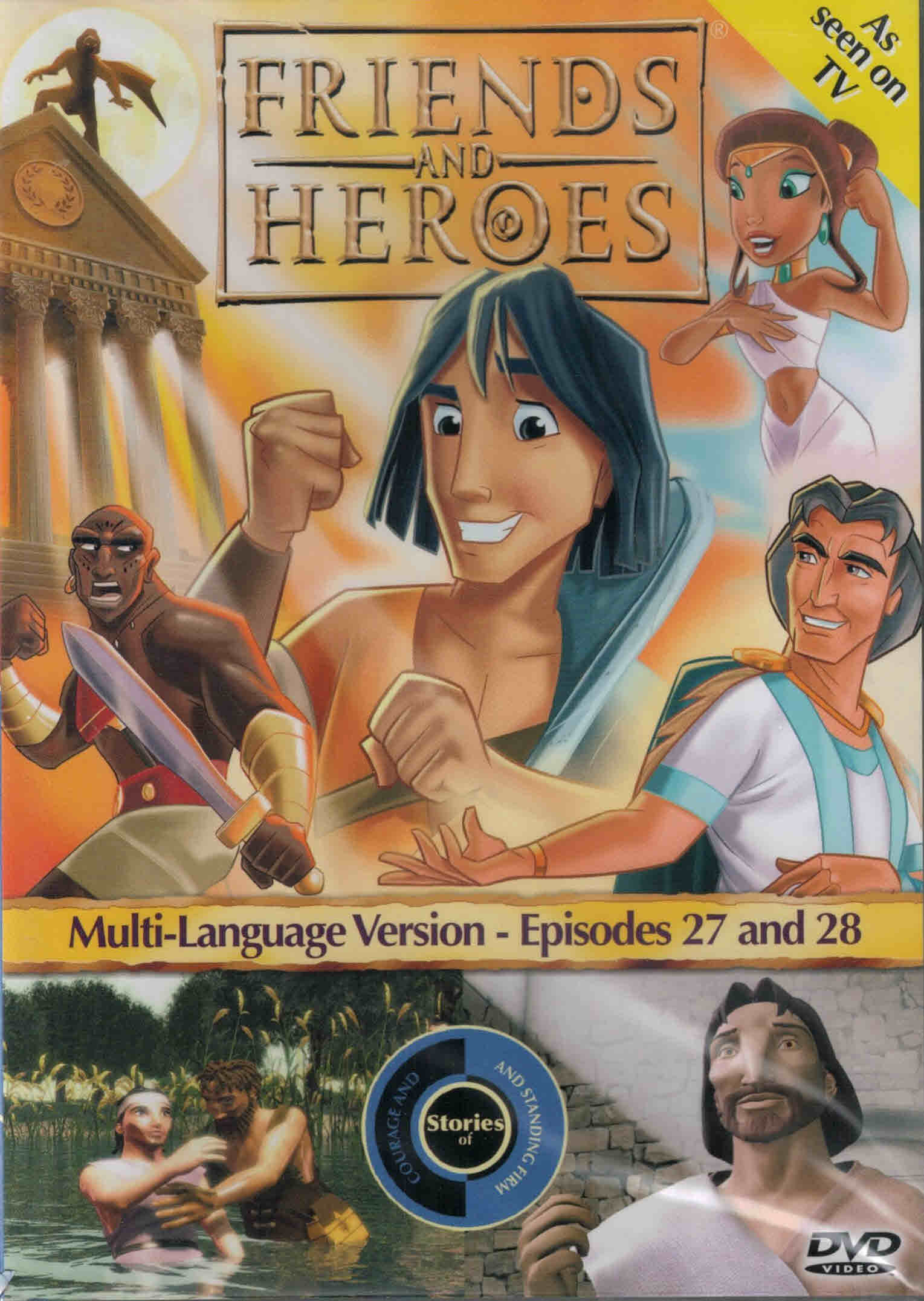 DVD Friends and Heroes Episodes 27-28