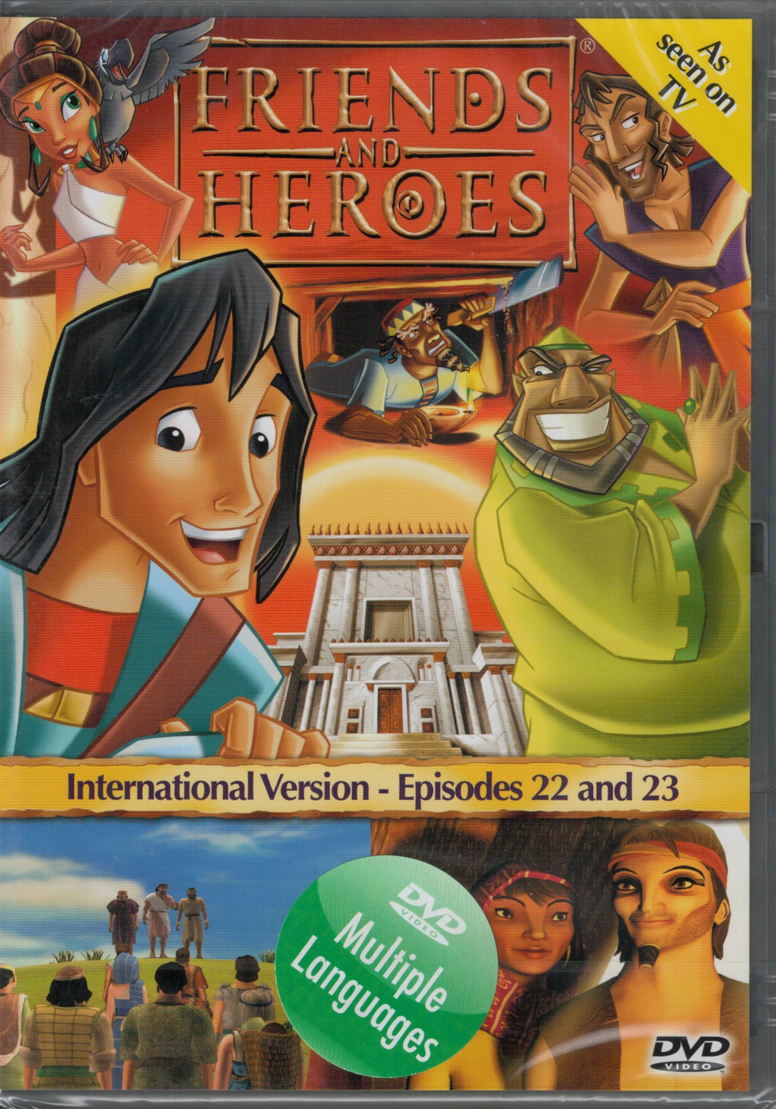 DVD Friends and Heroes 22-23