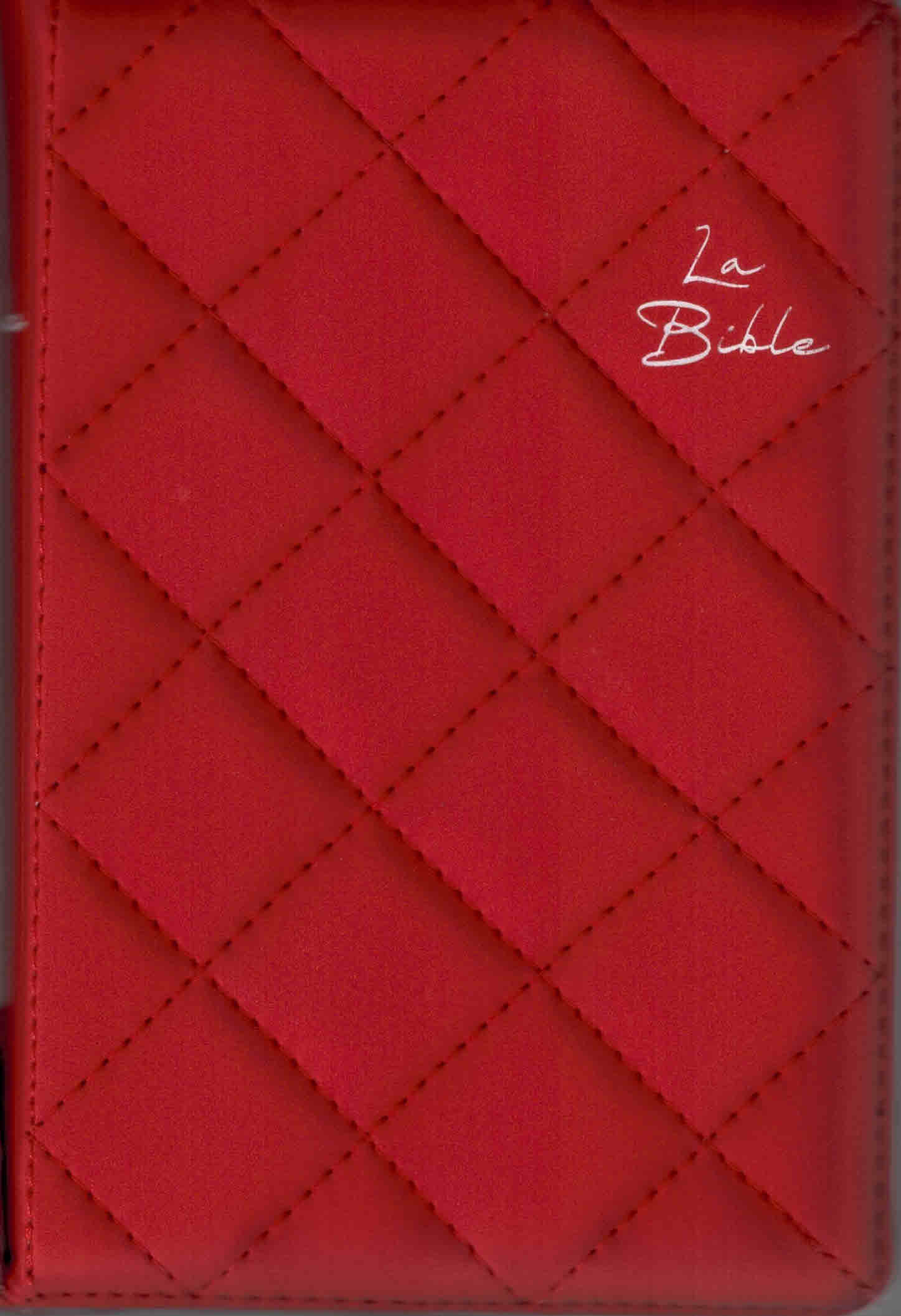 Bible SG 21 Compacte rouge onglets