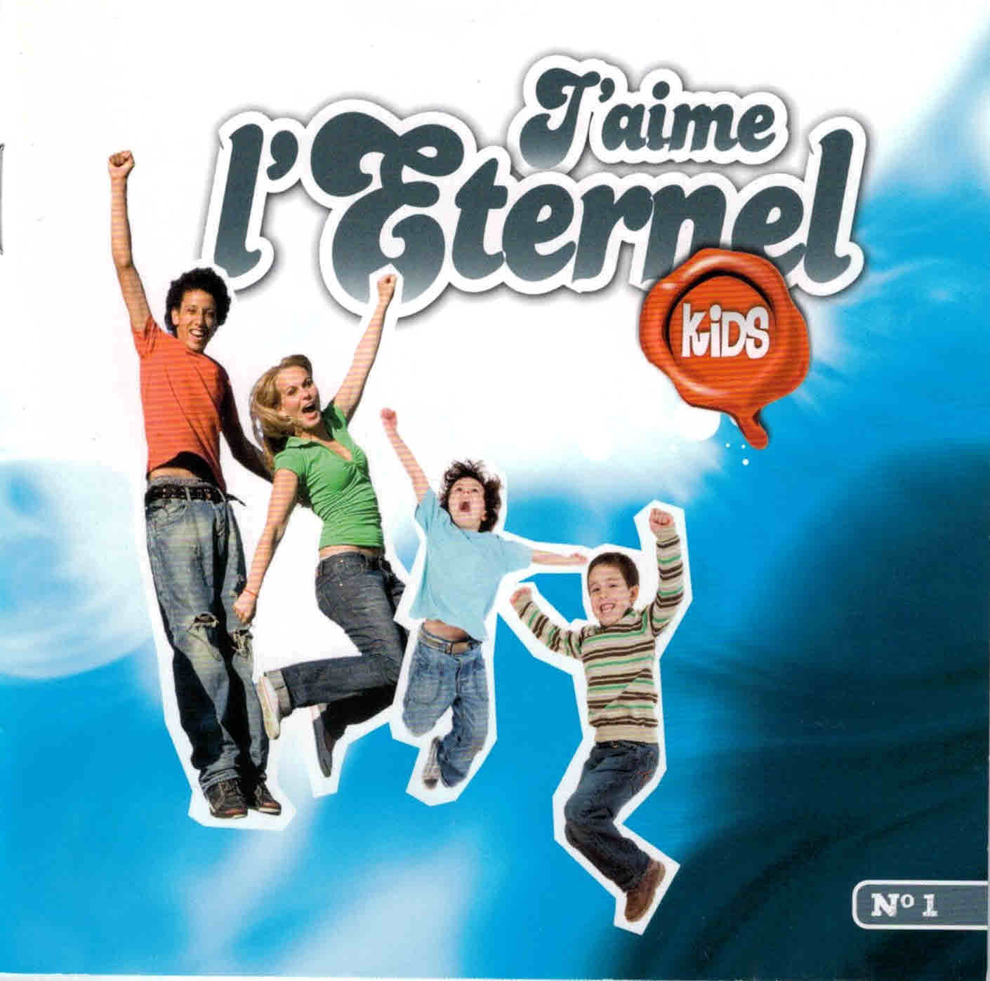 CD J'aime l'Éternel Kids no 1