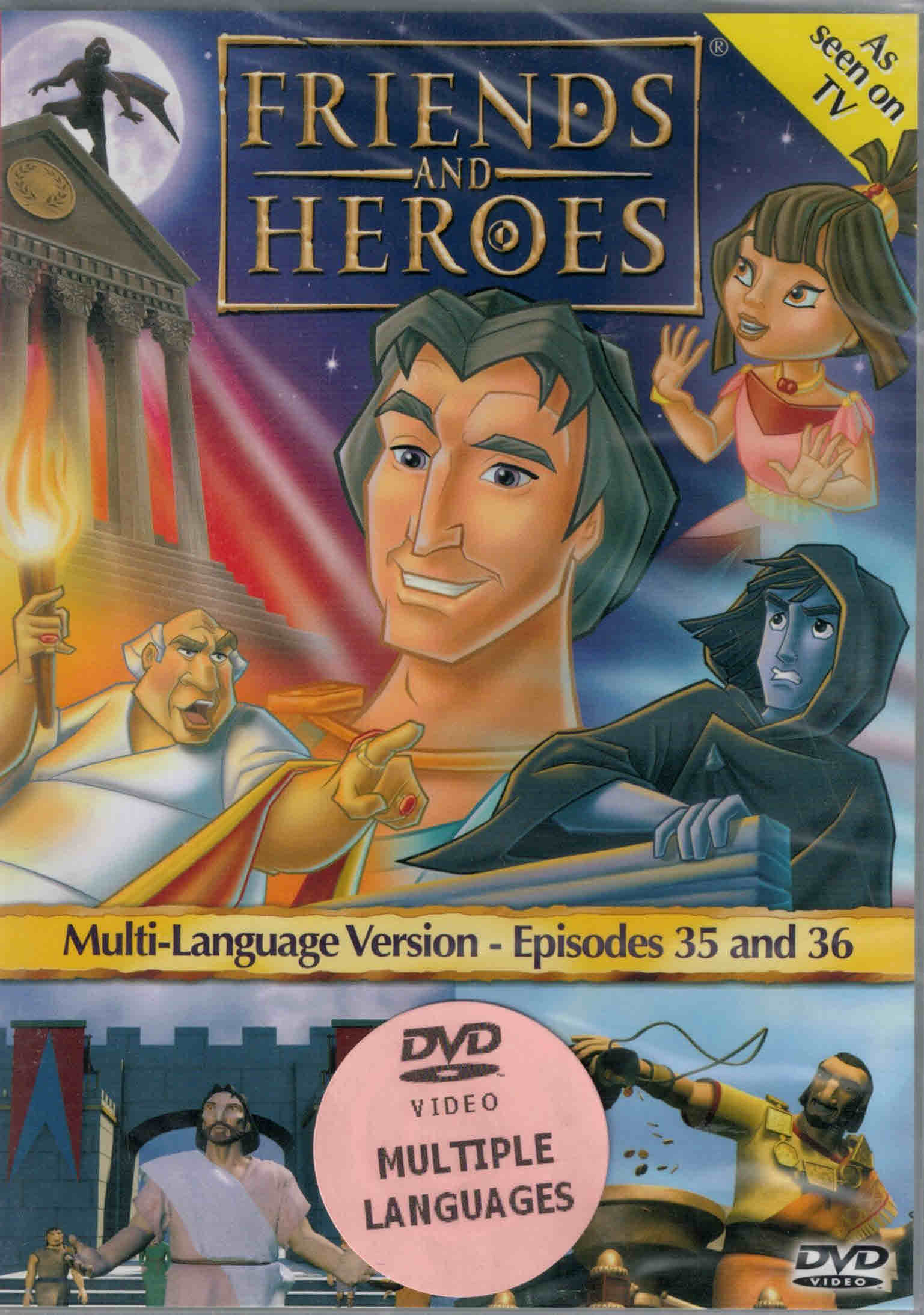 DVD Friends and Heroes Episodes 35-36