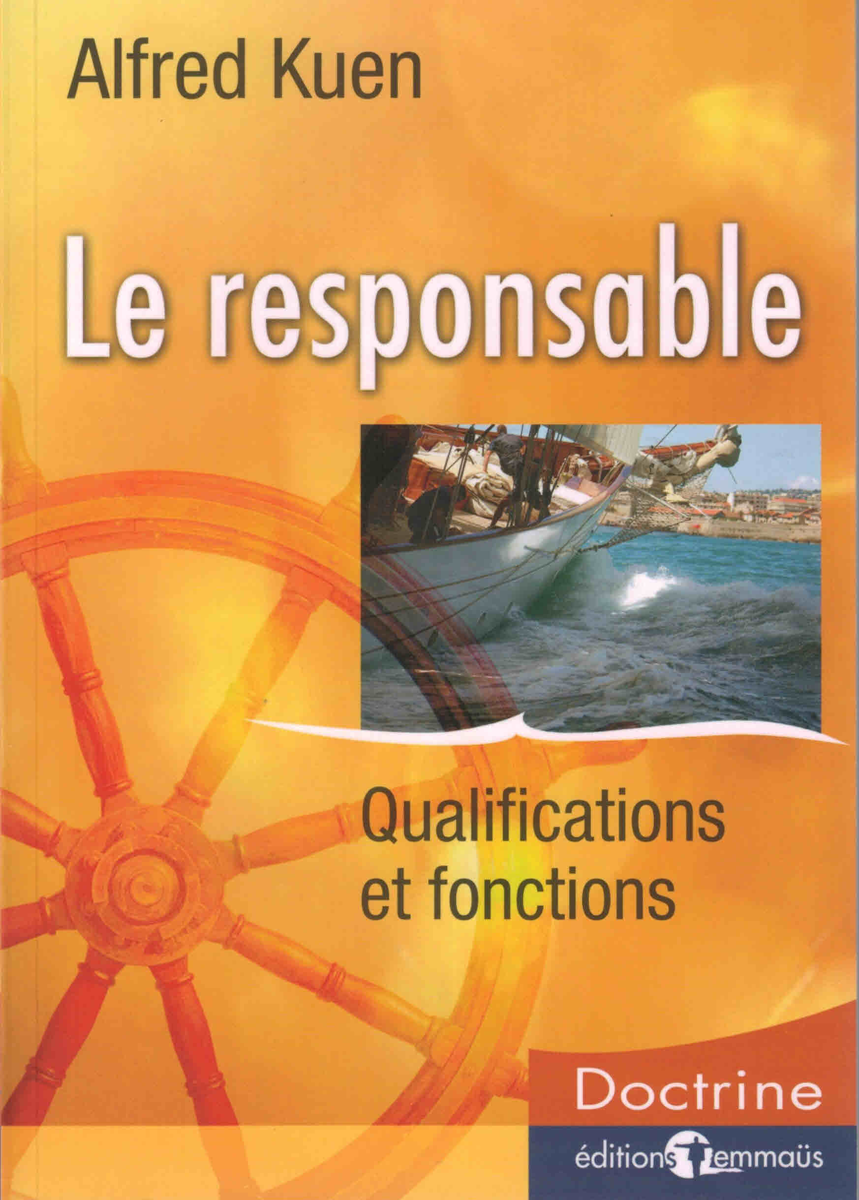 Le responsable Qualifications et fonctions