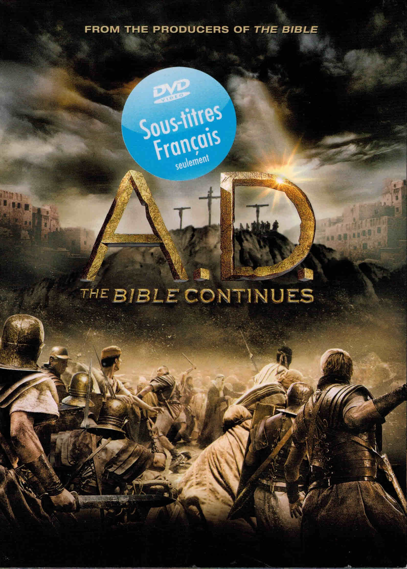 DVD A.D. The Bible Continues