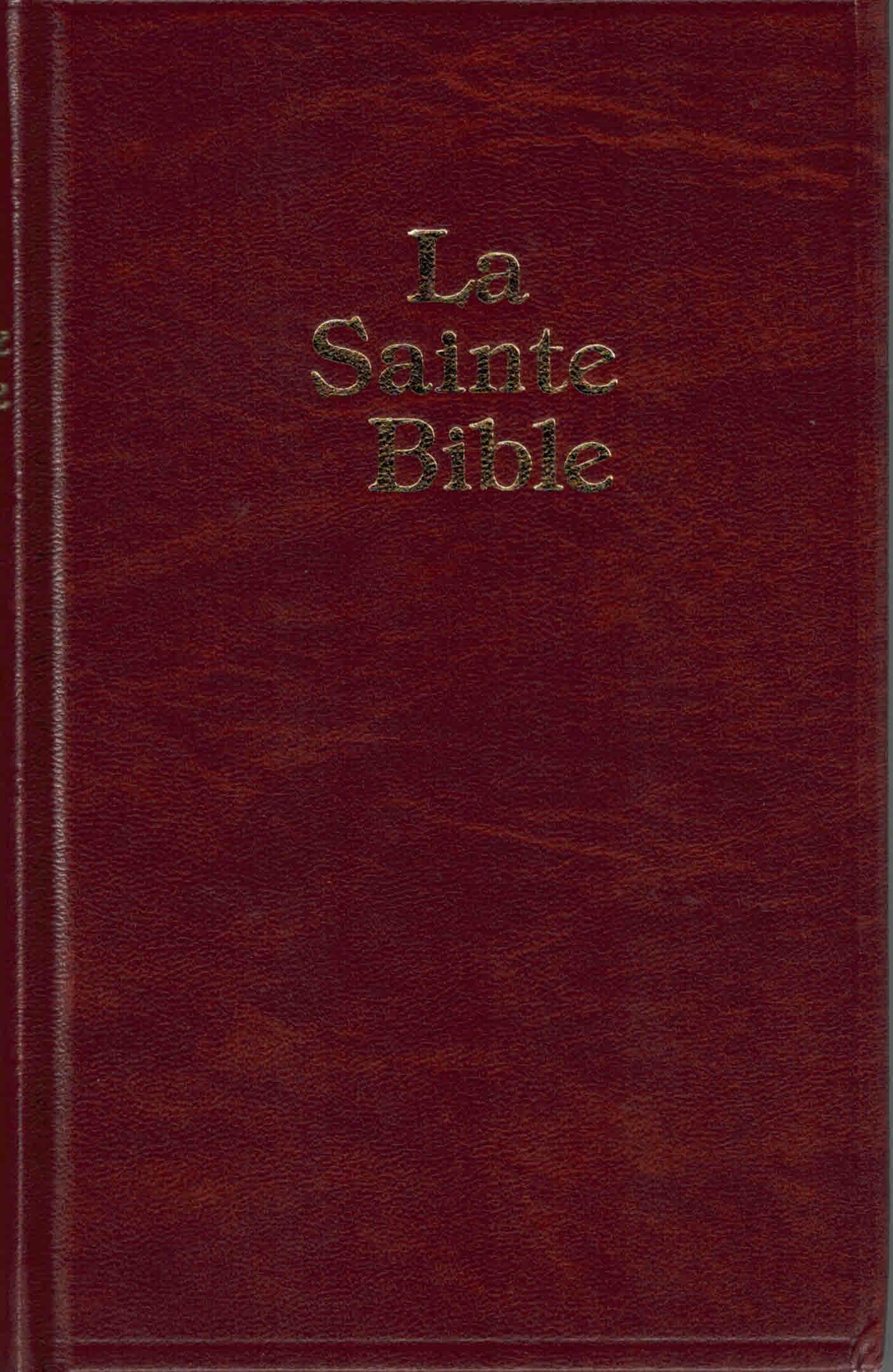 Bible Darby petit format marron