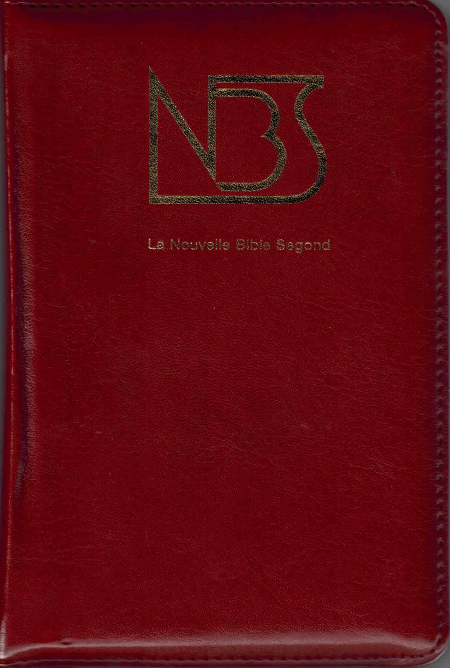 Bible NBS tranche or onglets glissière