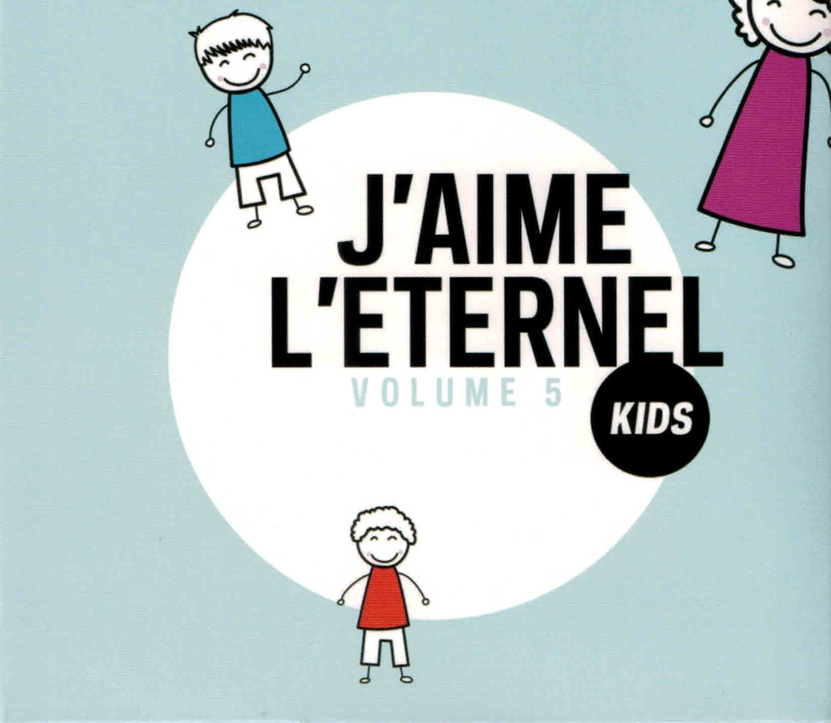 CD J'aime l'Éternel Kids volume 5