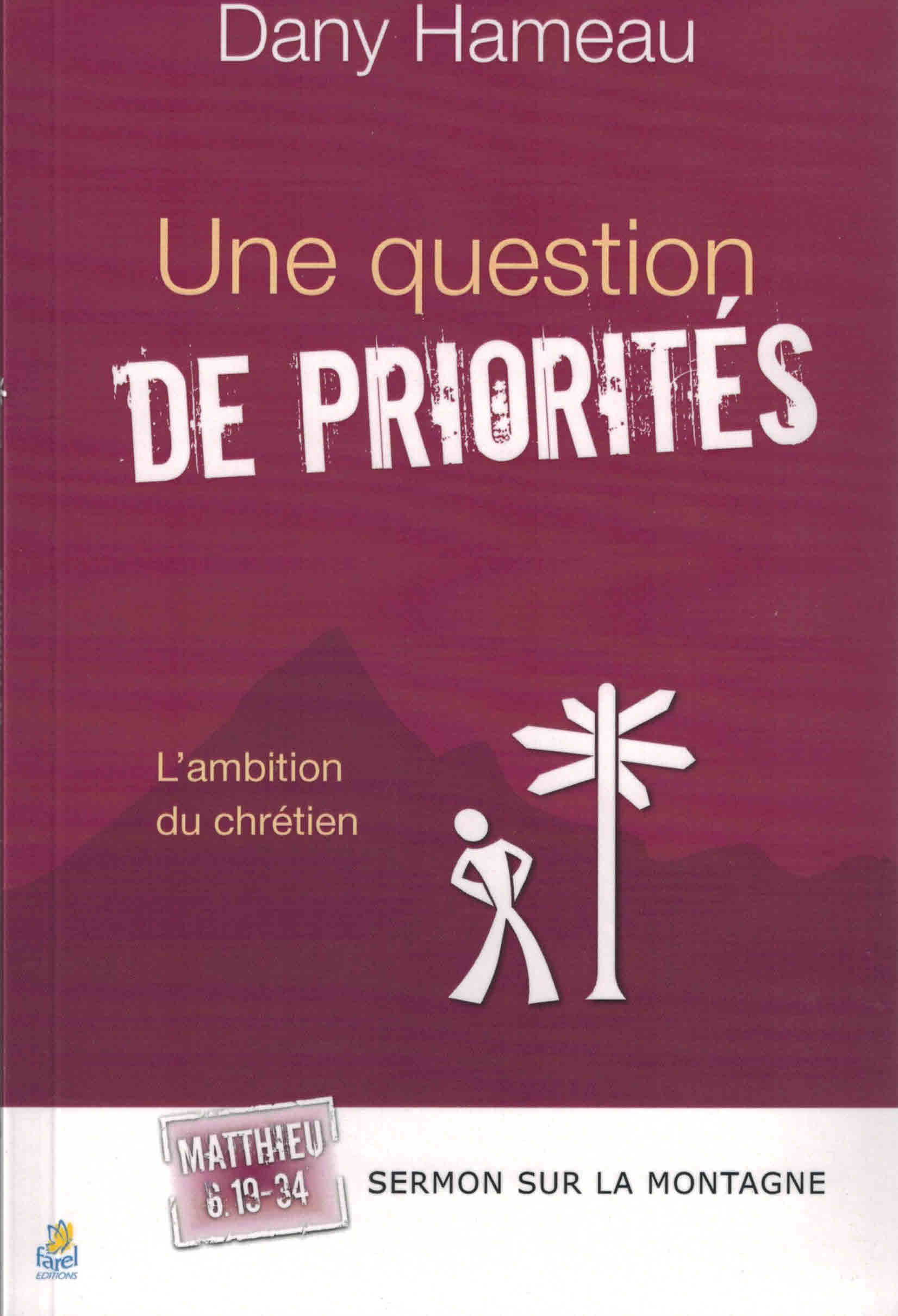 Une question de priorités