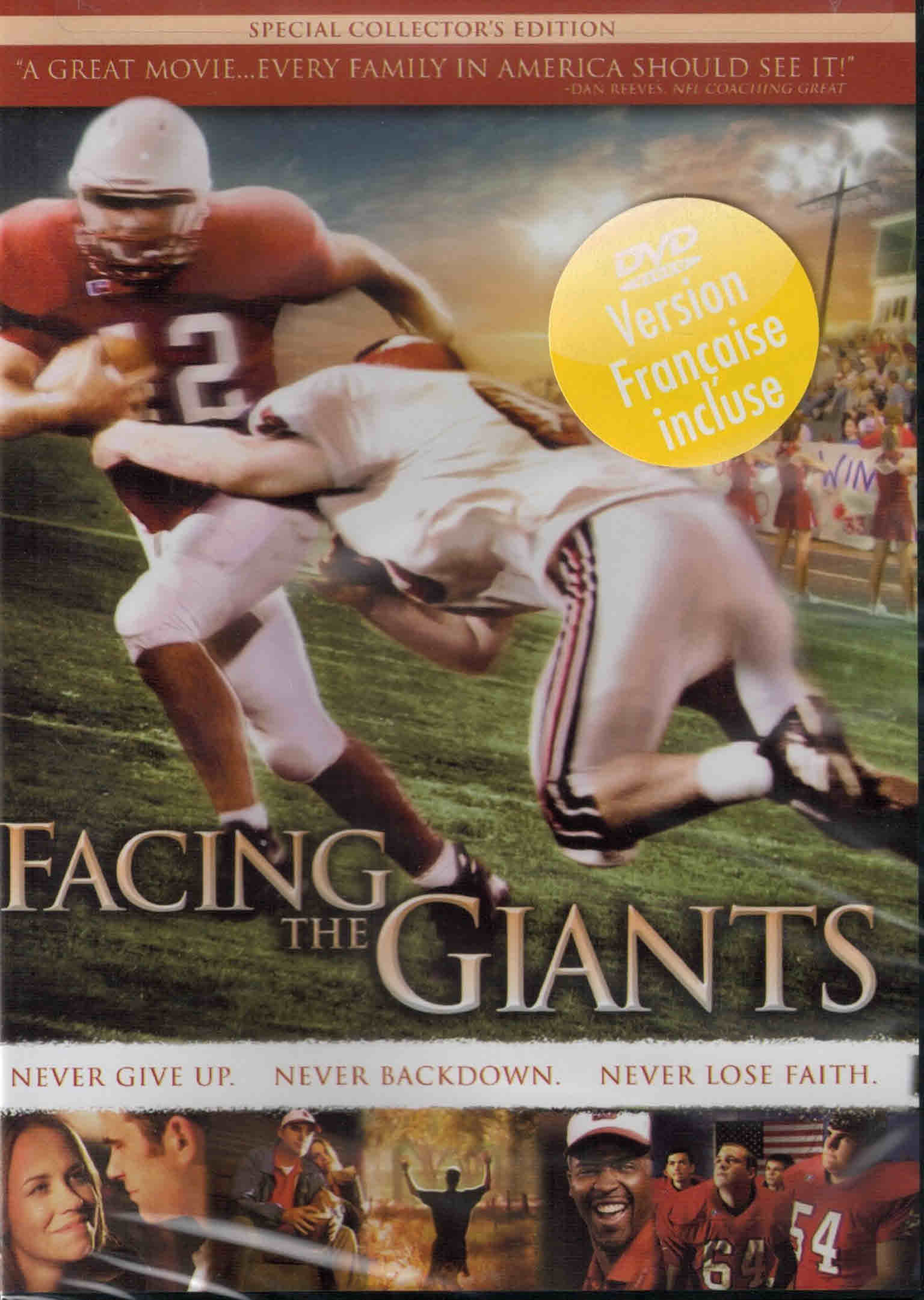 DVD Facing The Giants