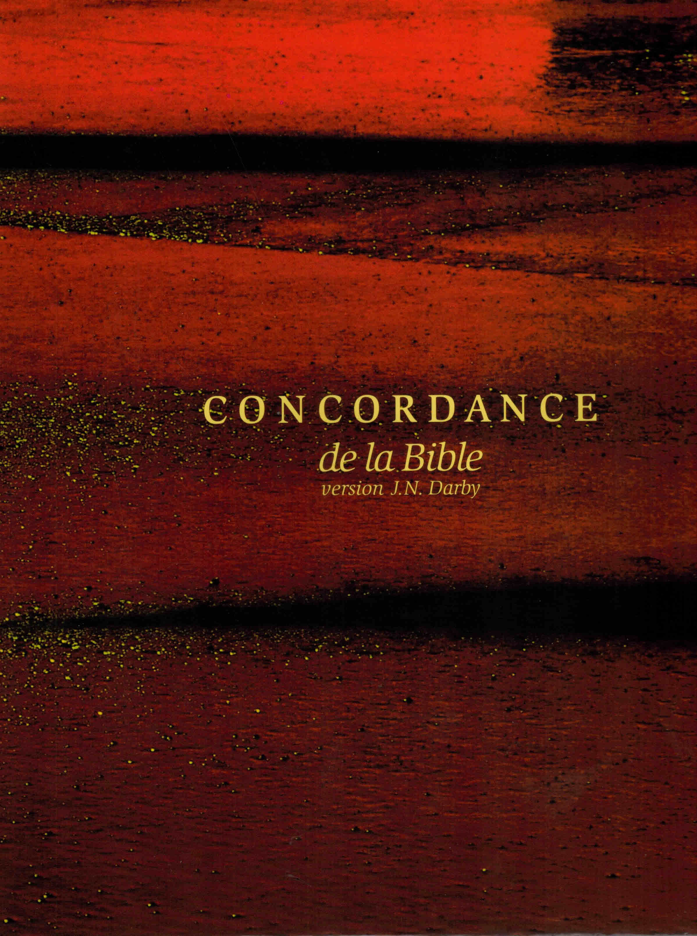 Concordance de la Bible version Darby