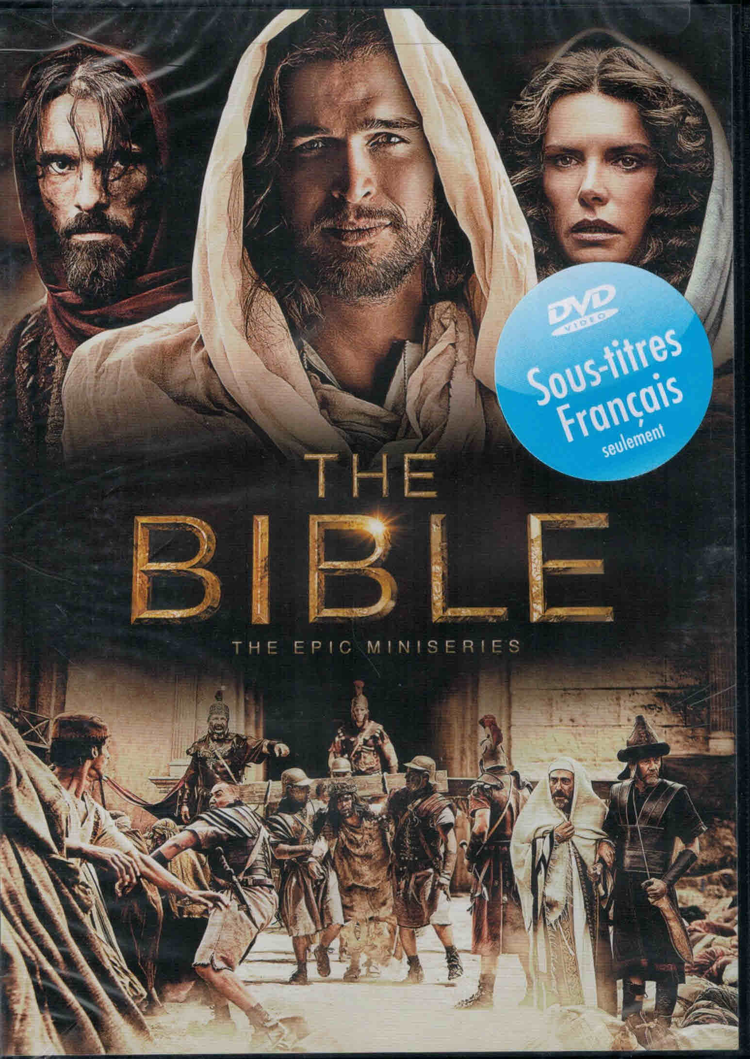DVD The Bible - The Epic Miniseries
