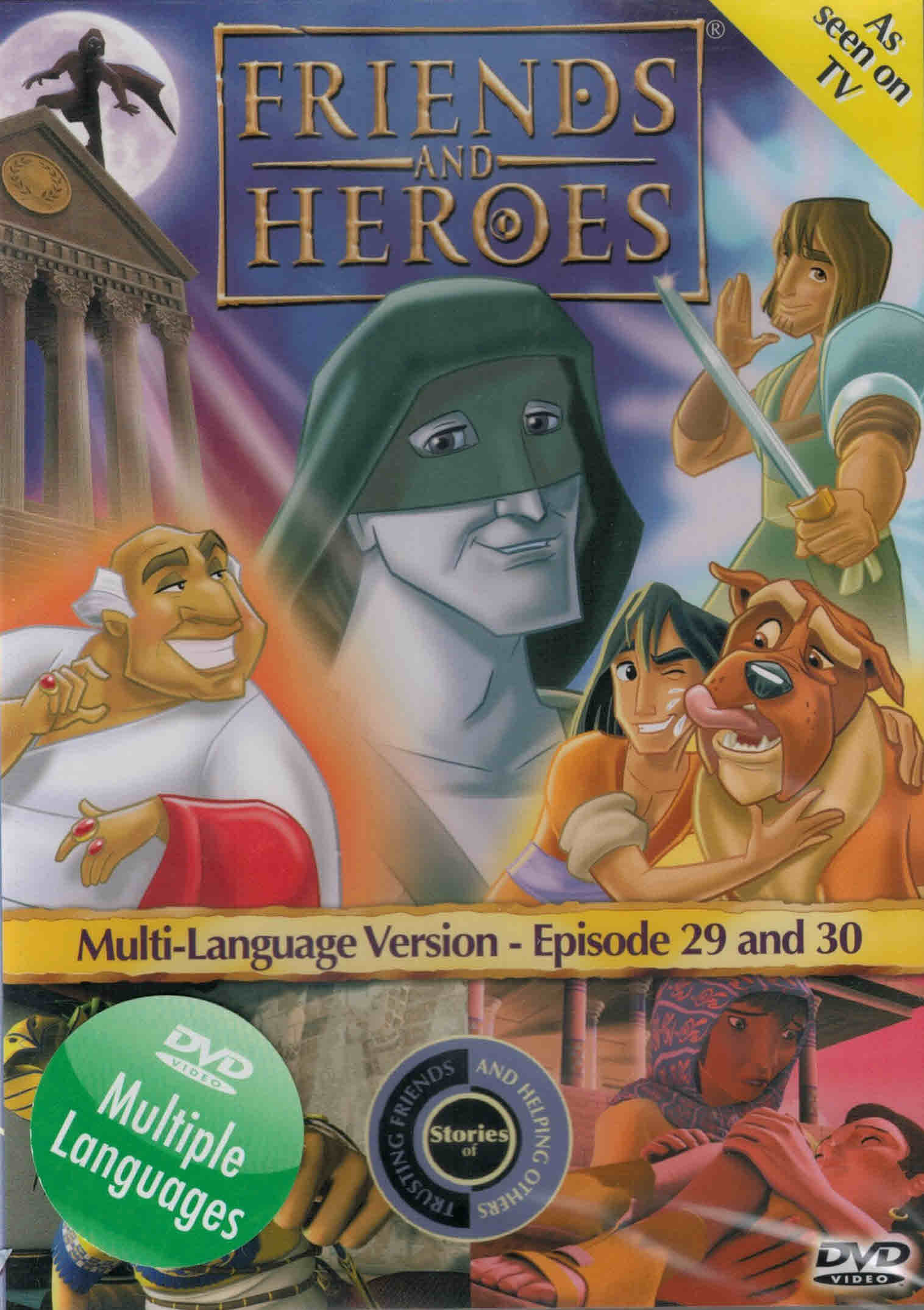 DVD Friends and Heroes Episodes 29-30