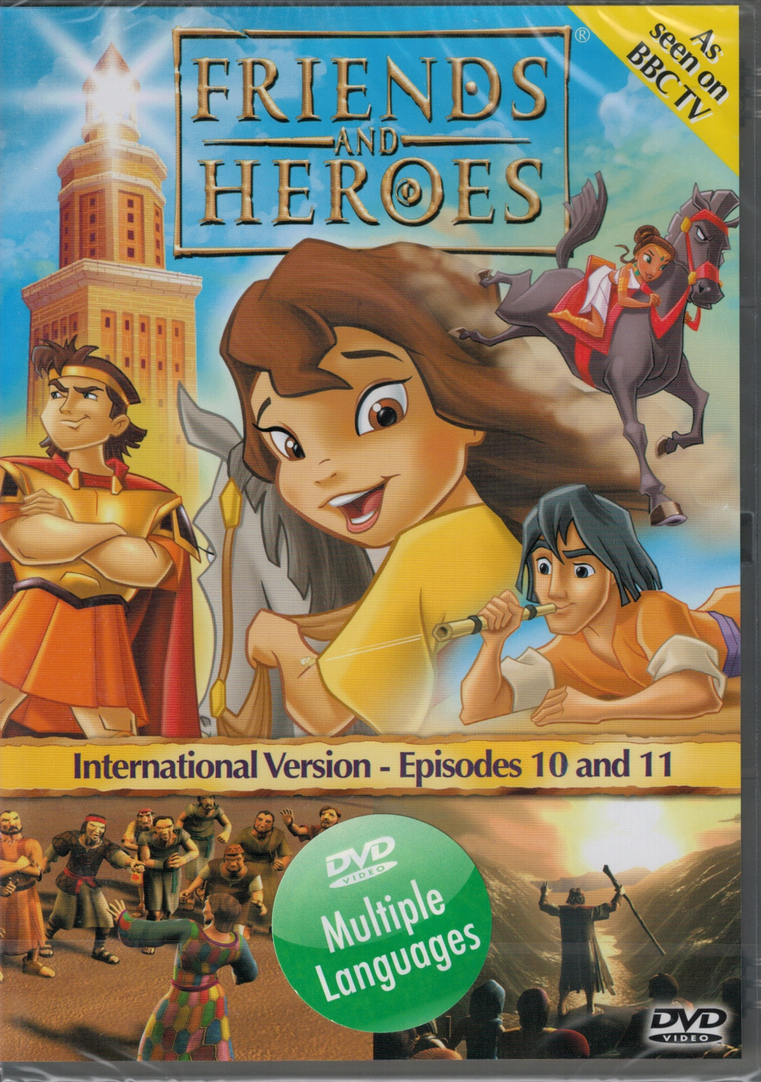 DVD Friends and Heroes Episodes 10-11