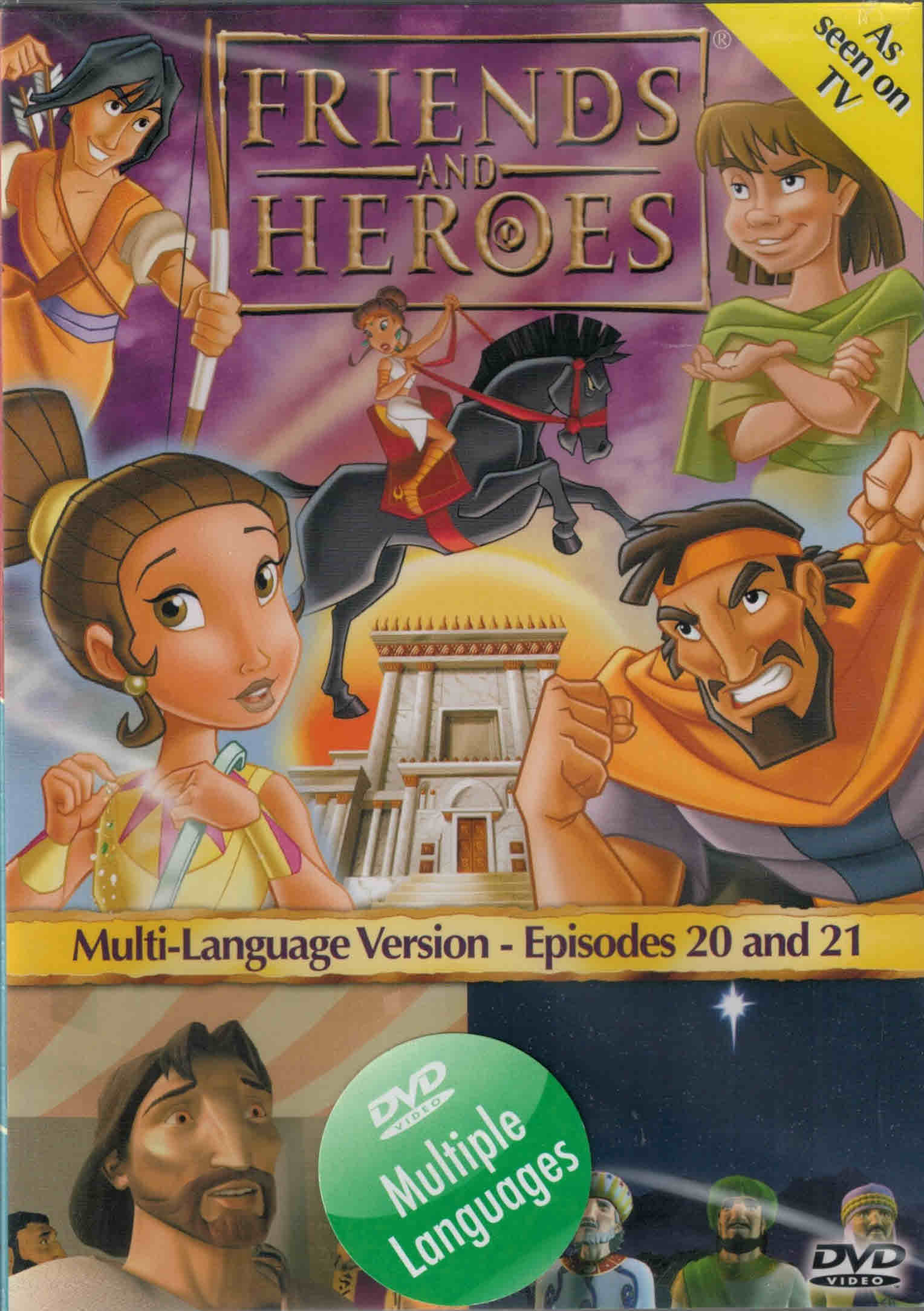 DVD Friends and Heroes Episodes 20-21