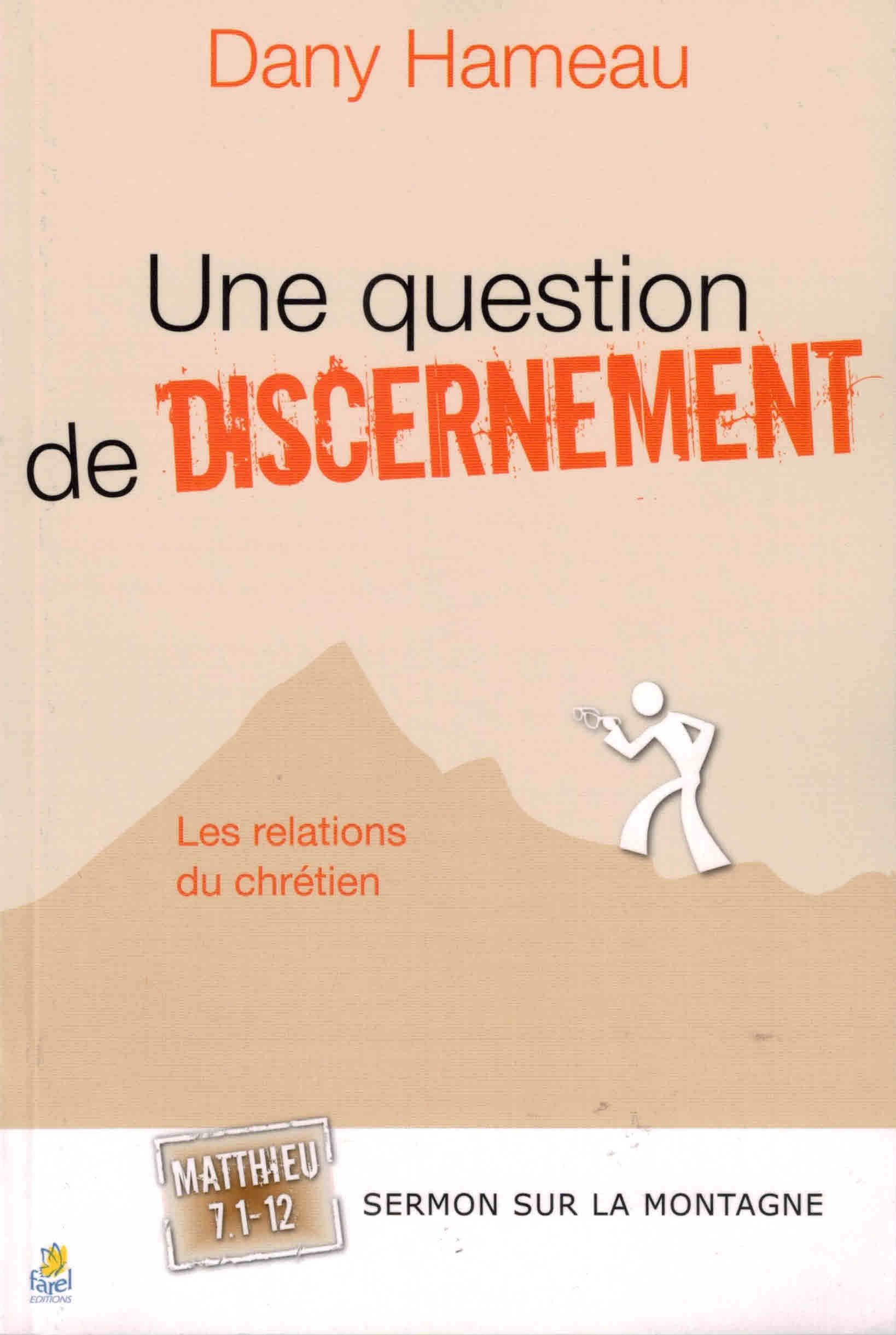 Une question de discernement
