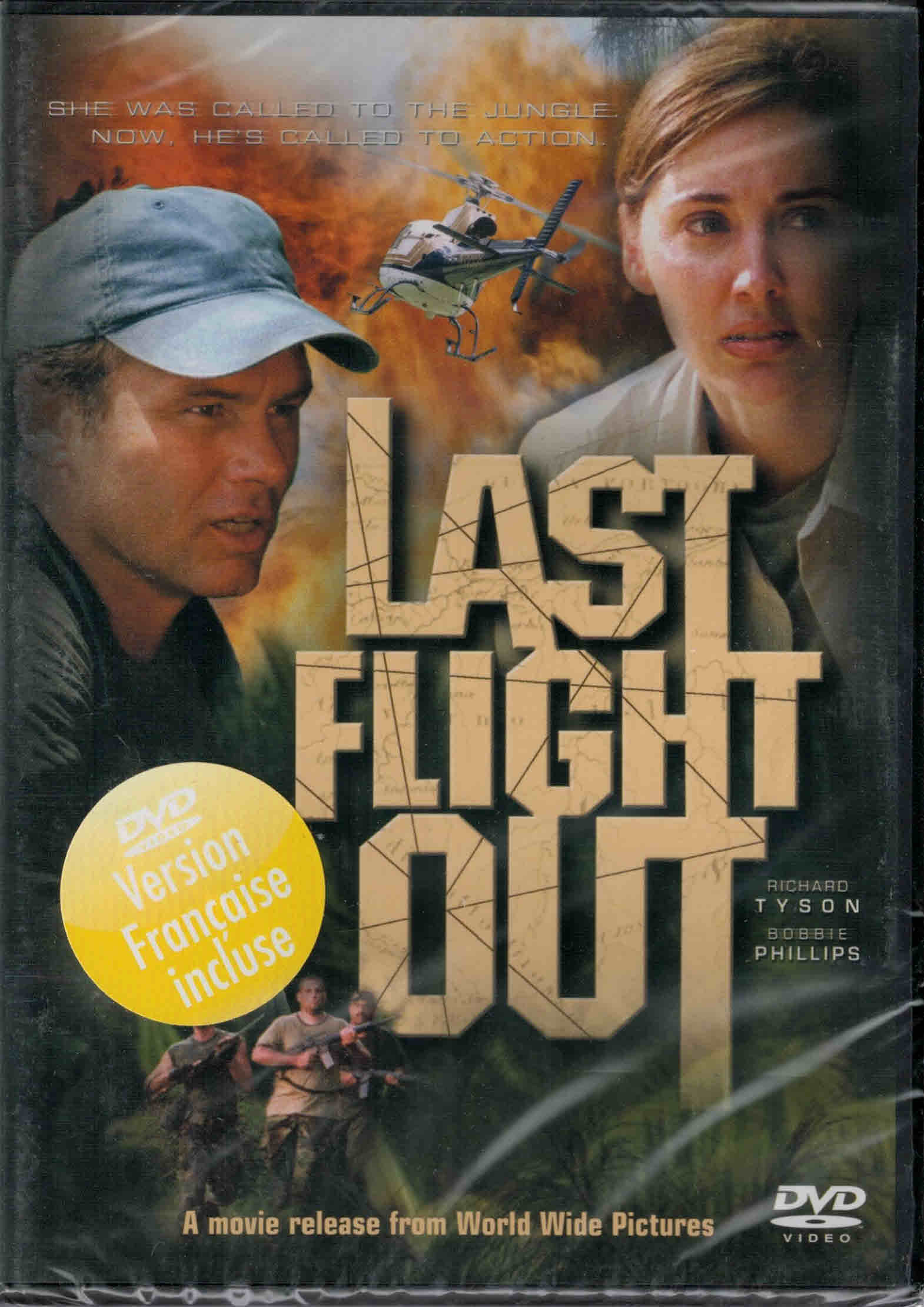 DVD Last Flight Out