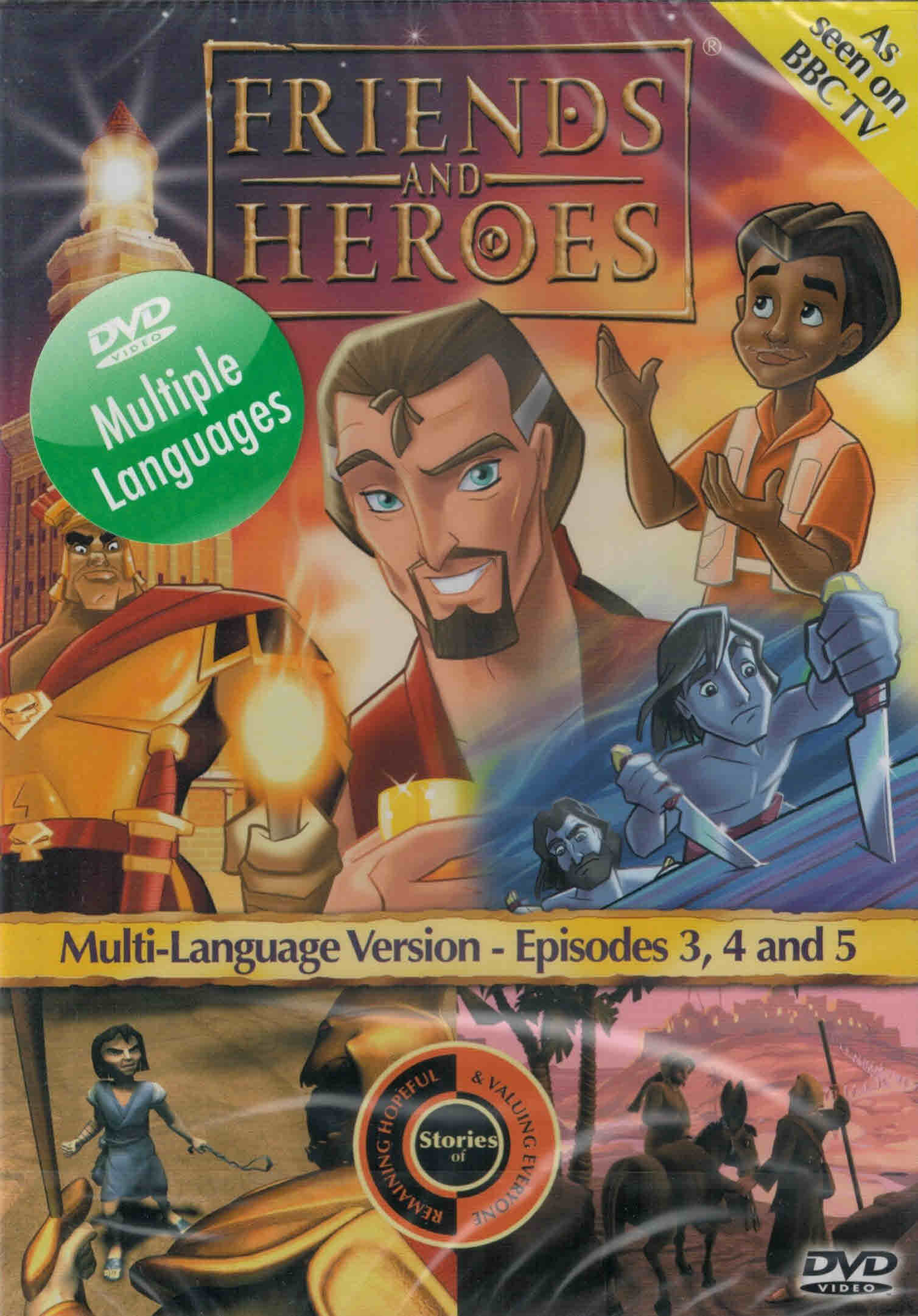 DVD Friends and Heroes Episodes 3-4-5