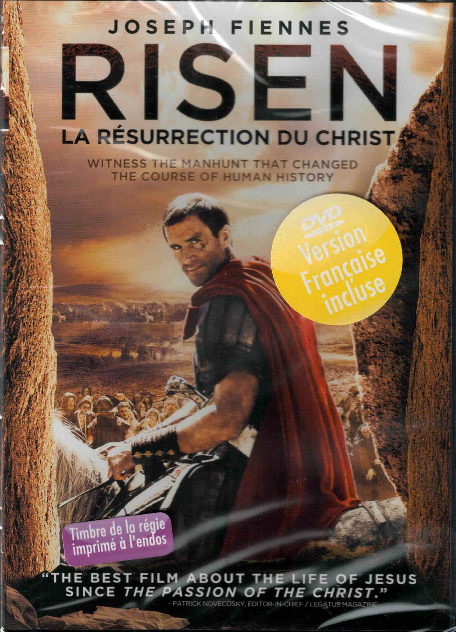 DVD Risen La résurrection du Christ