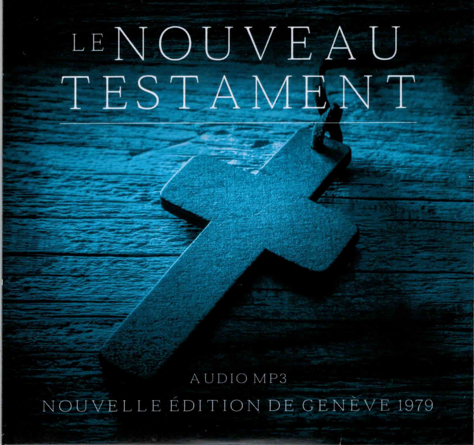 Nouveau Testament audio MP3 sur CD
