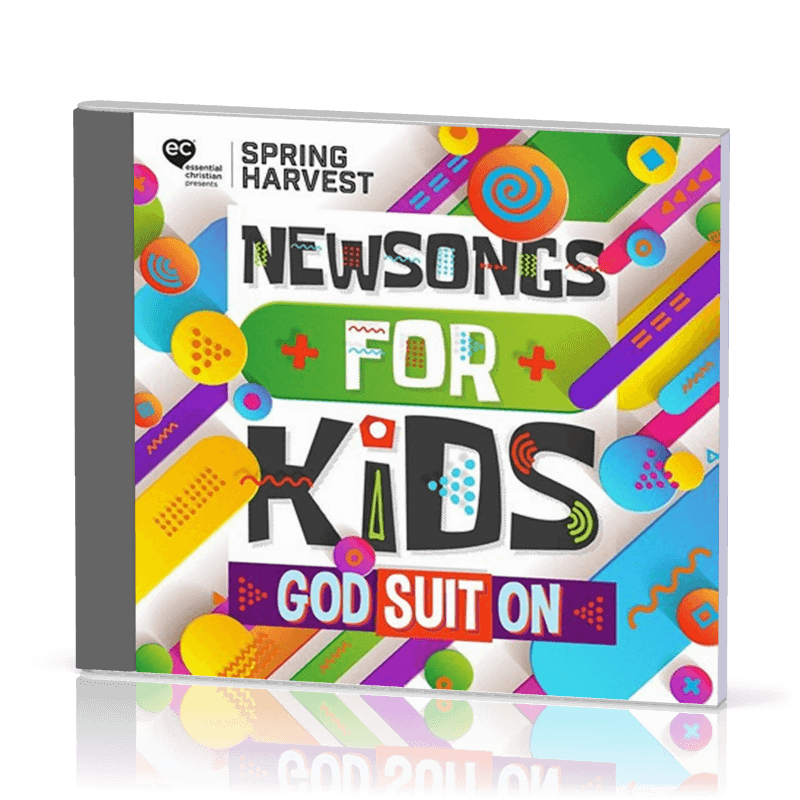CD Newsongs for kids - God suit on
