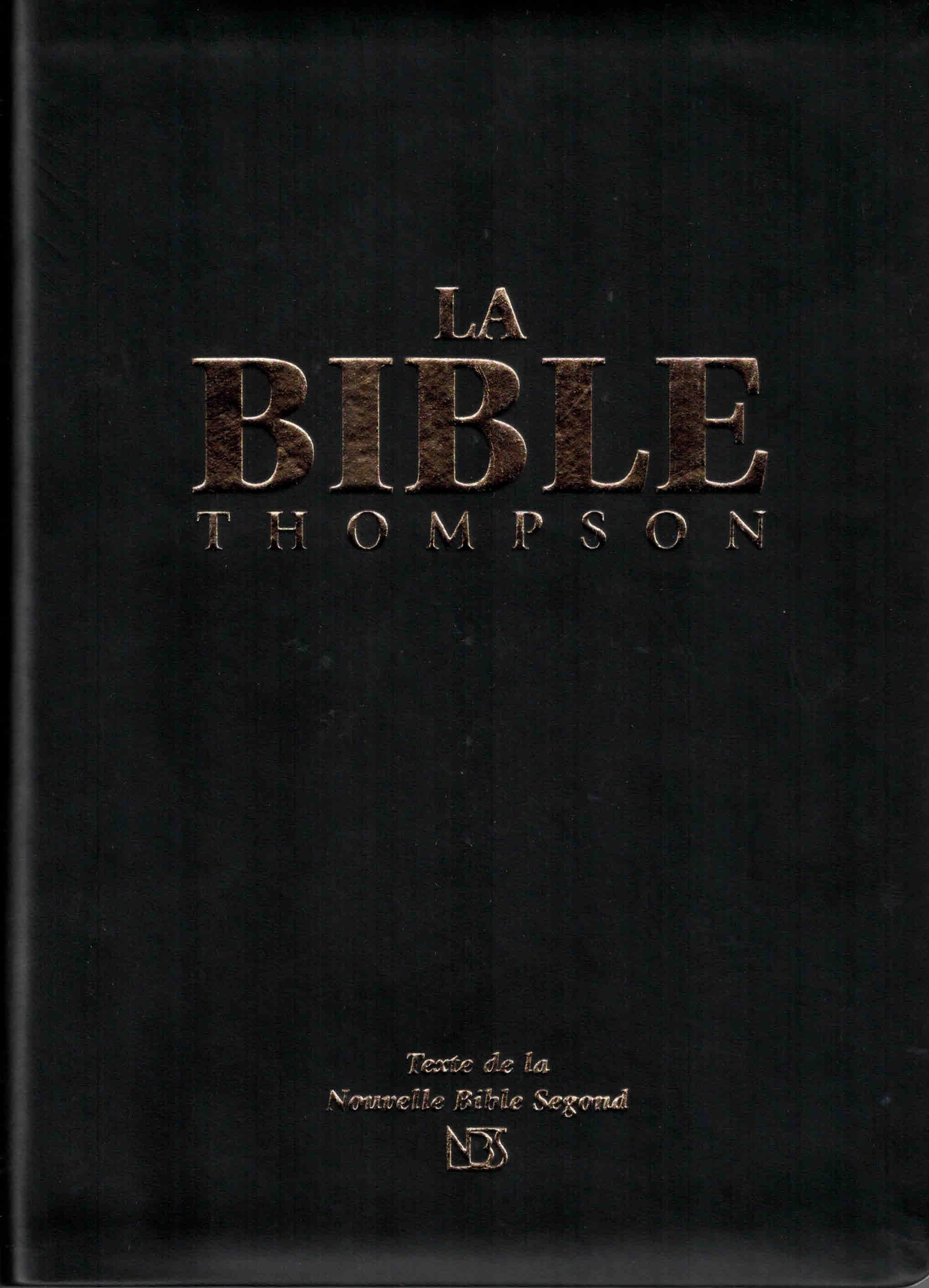 Bible Thompson NBS souple onglets
