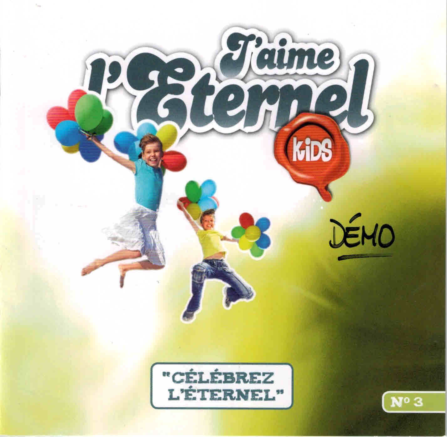 CD J'aime l'Éternel Kids no 3