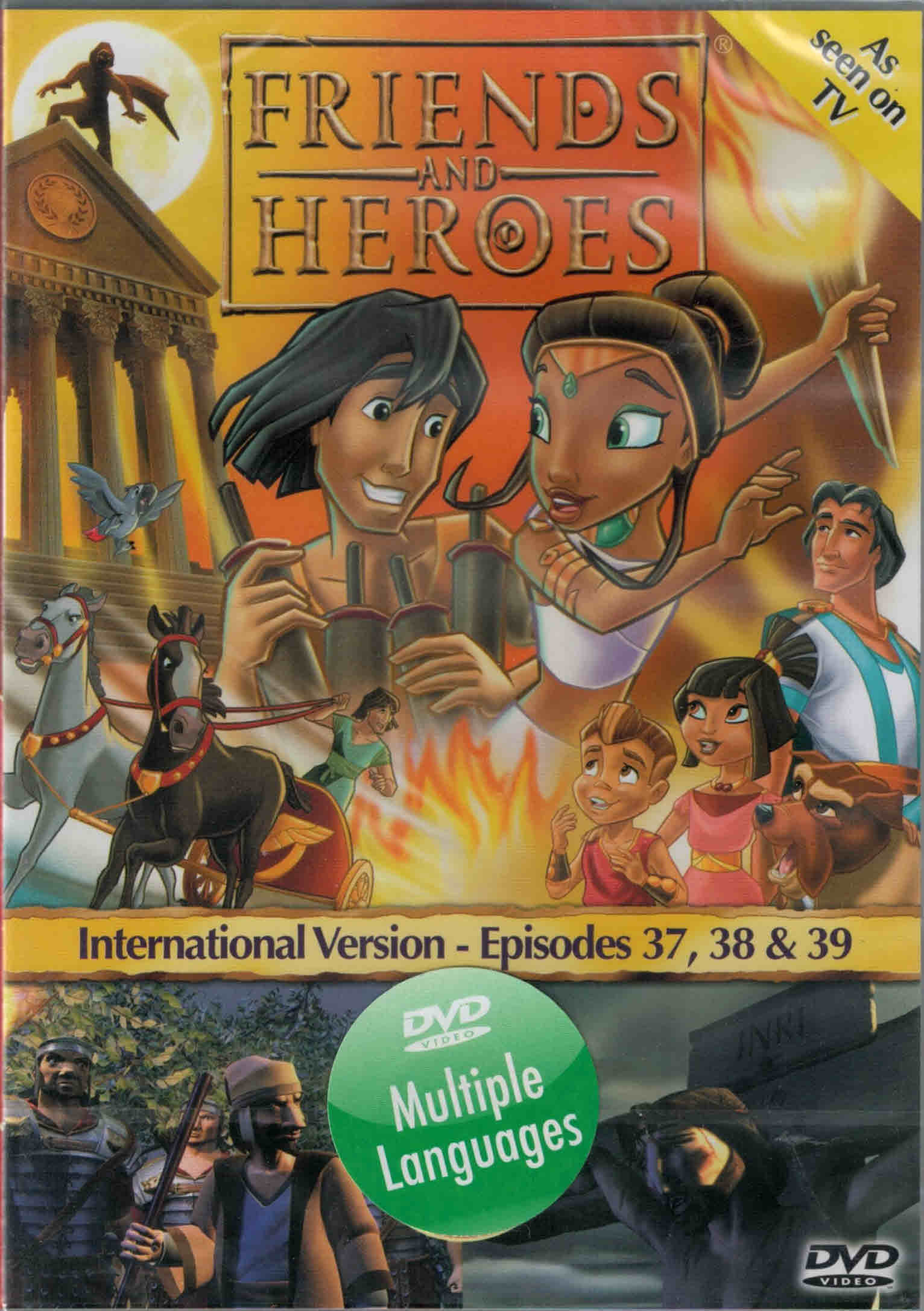 DVD Friends and Heroes Episodes 37-38-39
