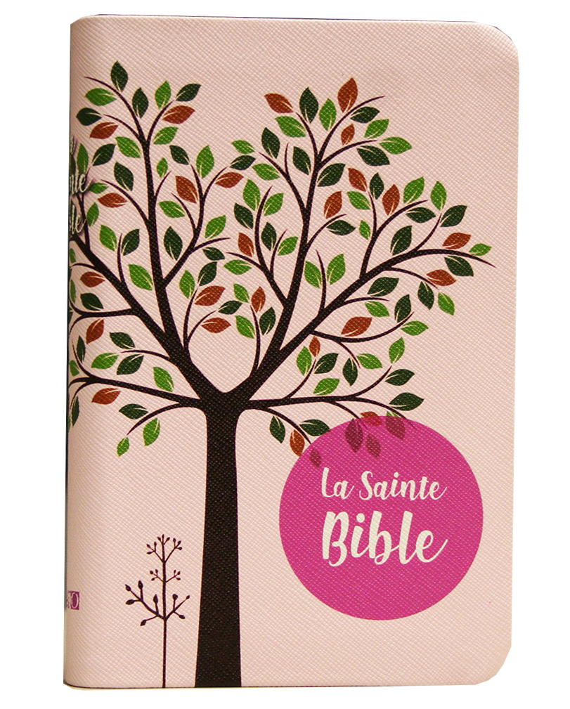 Bible SG 1910 compacte rose tranche or