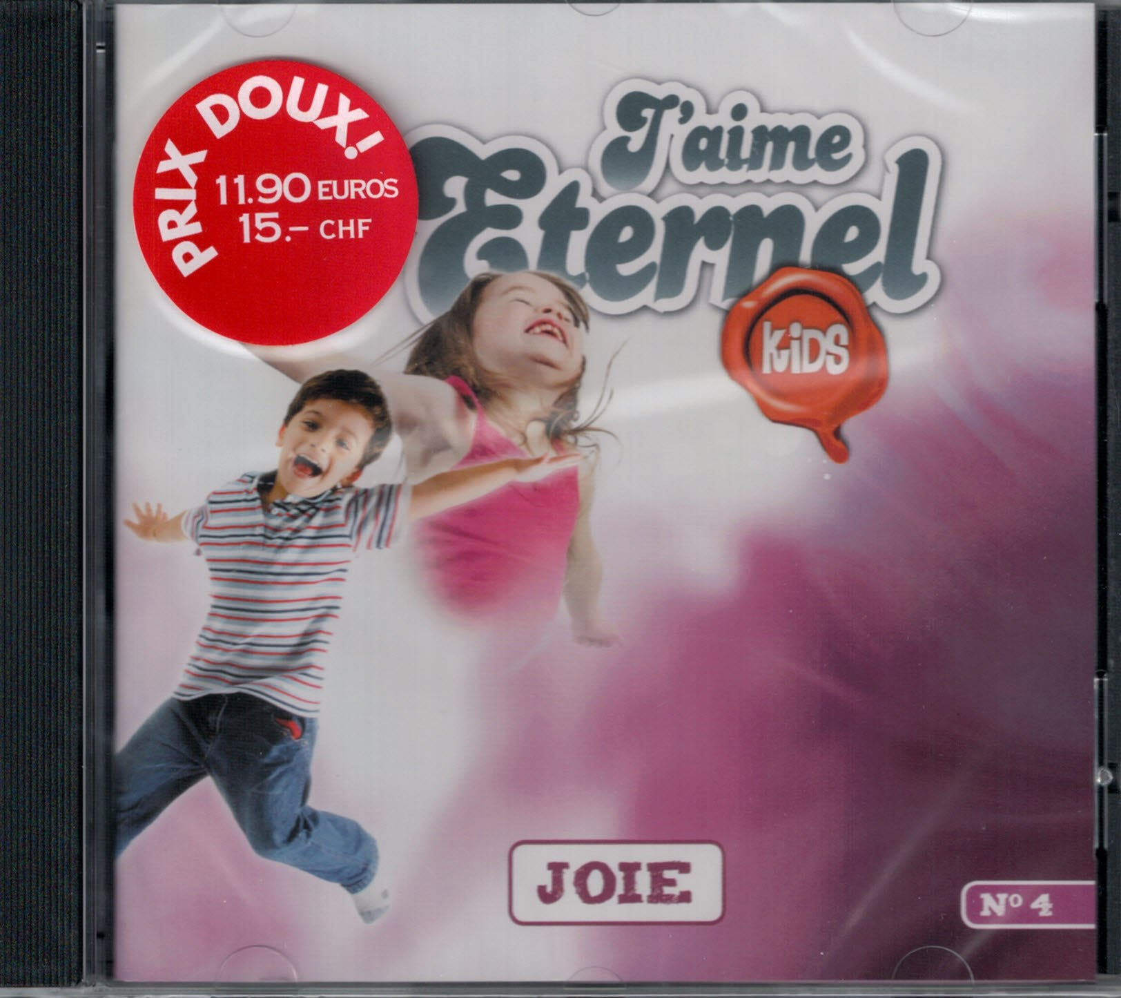 CD J'aime l'Éternel Kids no 4