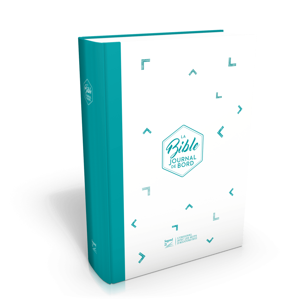 Bible SG 21 Journal de Bord rigide bleue