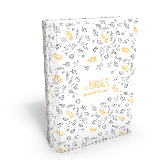 Bible SG 21 Journal de bord blanc et dorés version 2018