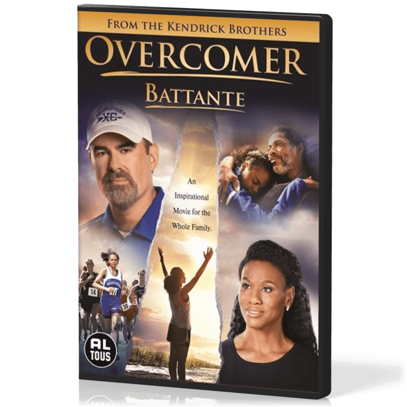 DVD Overcomer (Battante)