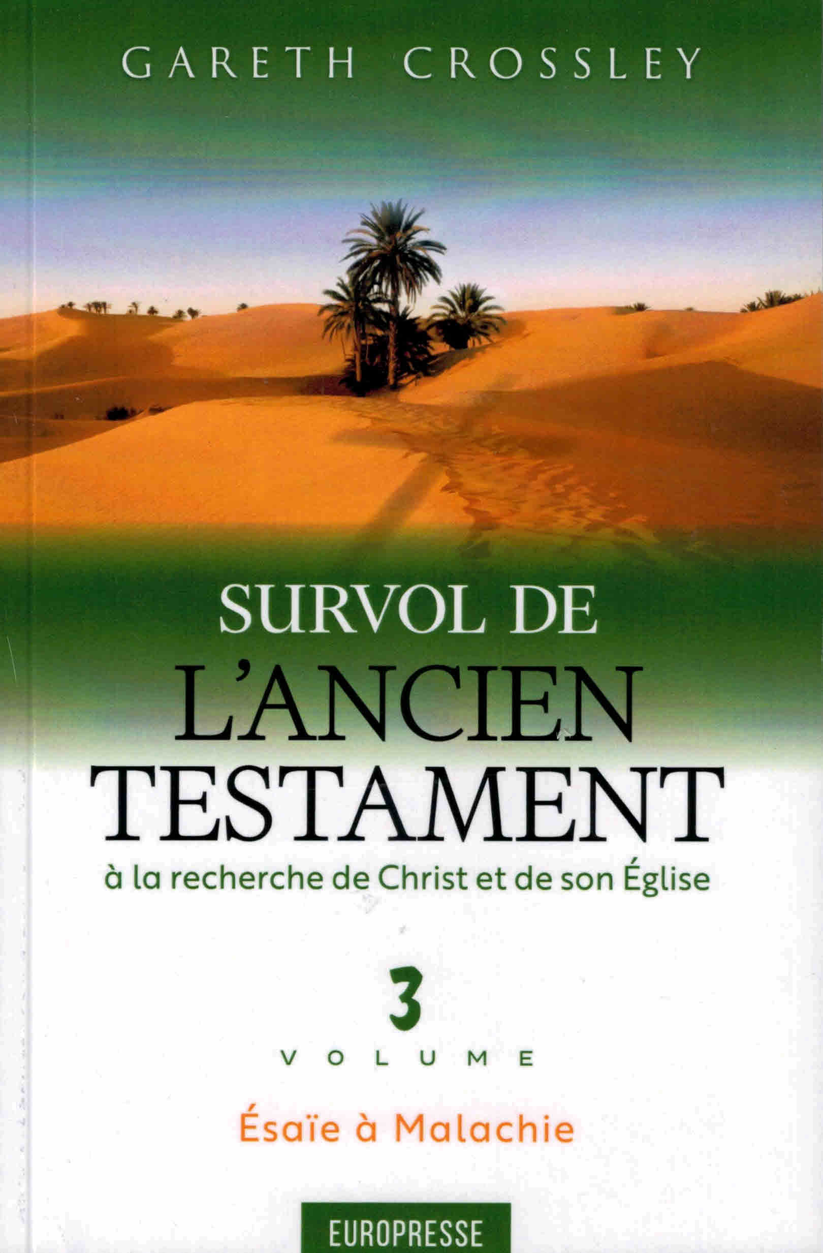 Survol de l'Ancien Testament volume 3