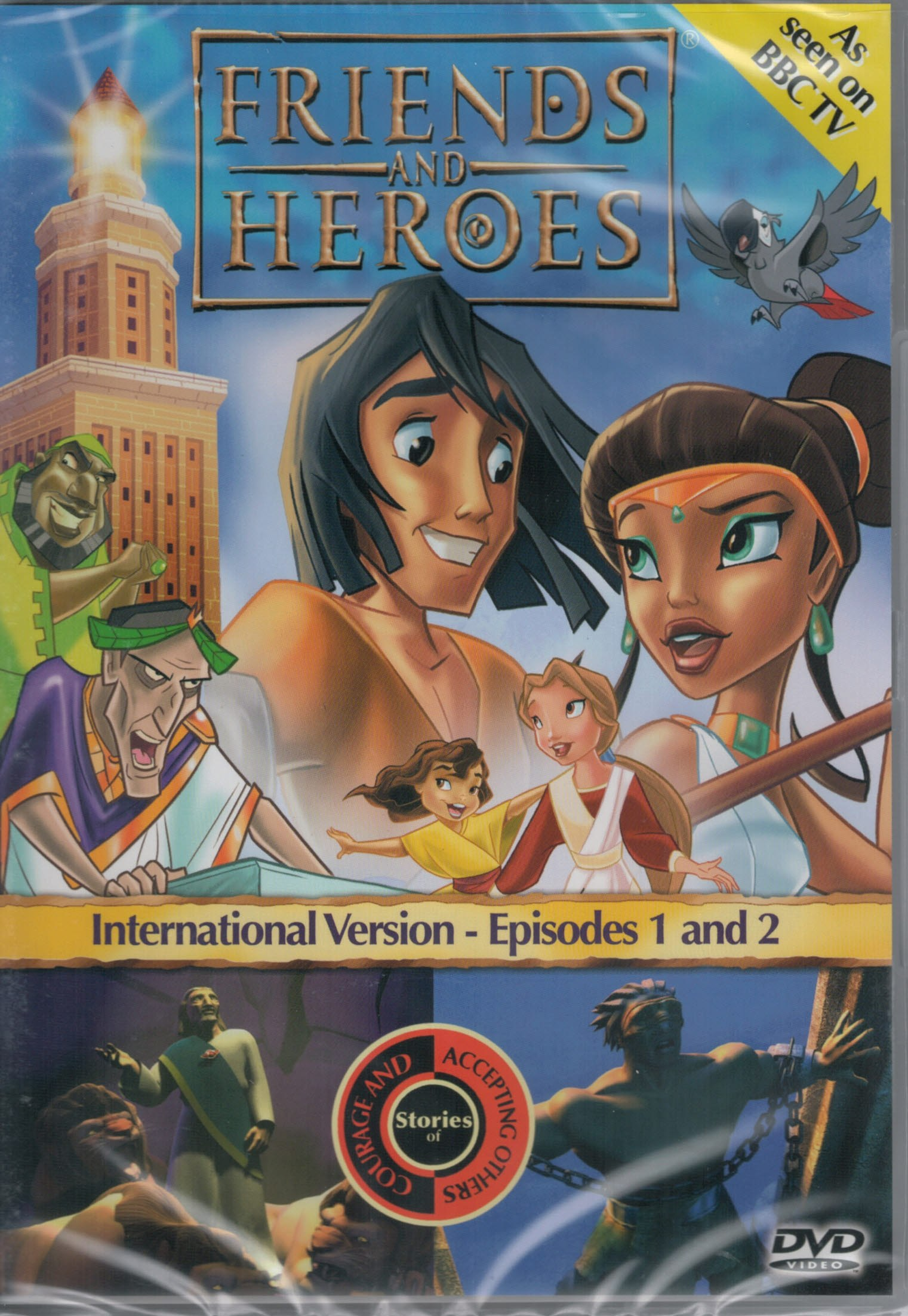DVD Friends and Heroes Episodes 1-2
